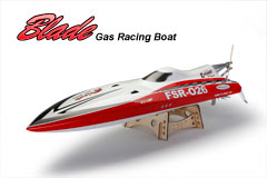 Blade gas racing boat